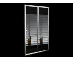 Porta per doccia scorrevole con specchio 120 x 190 cm - CRISTINA