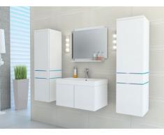 Set NAOMI con LED - Mobili da bagno - Laccato bianco