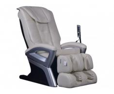 Poltrona massaggiante CRIOS in similpelle - Avorio