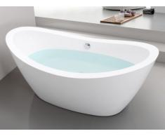 Vasca da bagno freestanding di design 170x83xH77 cm 180L - ALDA