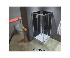 Doccia idromassaggio 3 getti massaggianti - pioggia tropicale e doccino - CASSIA
