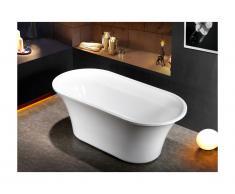 Vasca da bagno centro stanza design NOEMIE 75 x 150 x 58 cm