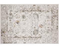 Tappeto stile vintage MODENA - effetto usato - 100% Polipropilene - 160x230 cm- Écru