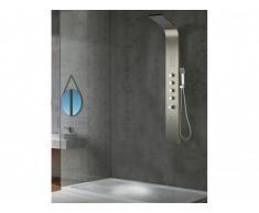 Colonna doccia idromassaggio termostatica a LED FELICITA - 20 x 165 cm
