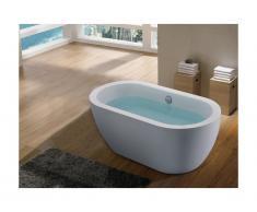 Vasca da bagno centro stanza ADRINA - 178L - 149x75x58 cm - Bianco