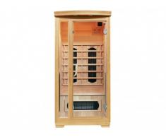 Sauna Infrarossi 1 posto OSVALD - L90xP90xH190 cm - 1750W