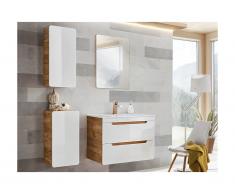 Set mobili per bagno Bianco 60 cm - ARUBA