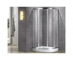 Box doccia con piatto 80 x 80 cm - MILOA