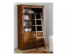 Libreria DAVAO con scala - Teak massello