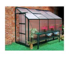 Serra da giardino da parete in policarbonato da 2,9 m² ZENAIS