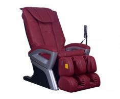 Poltrona massaggiante CRIOS in similpelle - Rosso