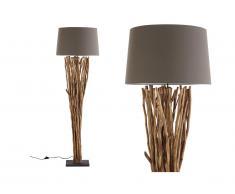 Lampada da terra RANUA in legno - H 175 cm - Naturale