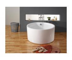 Vasca da bagno freestanding rotonda 130 x 130 x H 58 cm 316L - LAGUNA