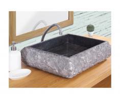 Lavabo in marmo RIVER - Colore grigio