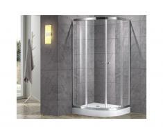 Box doccia con piatto 90 x 90 cm - MILOA