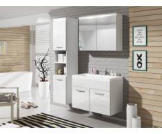 Set NINA a LED - mobili per sala da bagno - Laccatura bianca