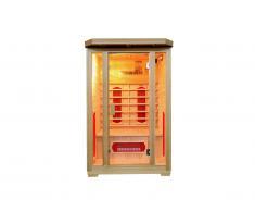 Sauna a infrarossi 2 posti Gamma prestige OSLO II