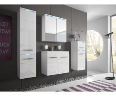 Set CLEMENCE a LED - Mobili da bagno - Laccato bianco