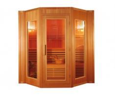 Sauna tradizionale finlandese 4/5 posti Gamma prestige GÖTEBORG II