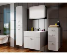 Set mobili LILI - Mobili da bagno - Laccato bianco