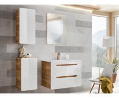Set mobili bagno bianco 80 cm - ARUBA