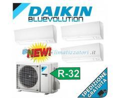 Daikin Condizionatore FTXM20M FTXM25M FTXM42M 3MXM52M Trial Split Gas R-32 Bluevolution 7+9+15 WiFi Ready