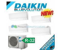 Daikin Condizionatore 4x CTXM15M 4MXM68M QUADRI Split R-32 Bluevolution 5+5+5+5 WiFi Ready