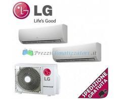 LG Condizionatore MS07SQ.NW0 MS15SQ.NB0 MU2M17.UL3 Dual Split Serie Standard 7+15