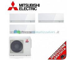 Mitsubishi Condizionatore 3 x MSZ-EF18VE2W MXZ-3E54VA Trial Split Serie KIRIGAMINE ZEN 5+5+5 Btu (6 6 6)