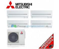 Mitsubishi Condizionatore SF15VA SF20VA SF25VE SF42VE MXZ-4E72VA Quadri Split Serie SF 5+7+9+15 Btu