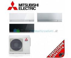Mitsubishi Condizionatore 2 x MSZ-EF22VE2WBS EF42VE2WBS MXZ-3E68VA Trial Split Serie KIRIGAMINE ZEN 7+7+15 Btu (8+8+15)