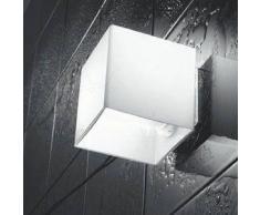 linea light Lampada illuminazione bagno Dice - Bianco
