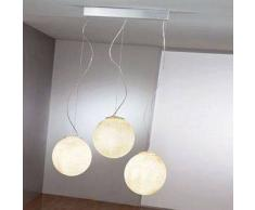ines artdesign Lampade a sospensione Tre lune - Nebulite