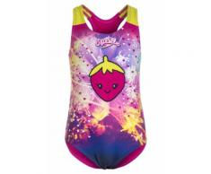 Speedo APPLIQUE Costume da bagno electric pink/navy/lime punch
