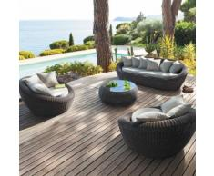Salotto da giardino Java Sabbia - 5 posti