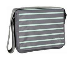 Borsa fasciatoio Casual Messenger Bag Ash-striped da appendere di Lässig
