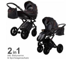 Knorr-Baby Passeggino Alive Be Carbon
