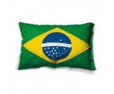 SELETTI federa esterna per cuscino FLAGS CUSHION (Brasile - Cotone)