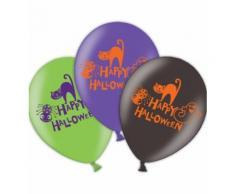 Palloncini Happy Halloween.Accessori e Complementi x Costumi di Carnevale,Halloween,Feste in Maschera