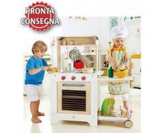 Cucina Cuoci e Servi per Bambini in Legno Hape - Offerta