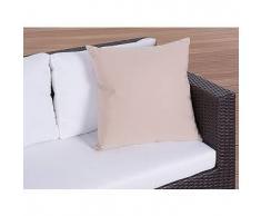 beliani Cuscino da esterno - 50x50cm - Color caramello