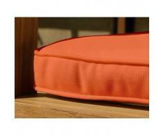 beliani Cuscino da esterno - Per panchina da giardino - 152x44.5x5cm - Color terracotta