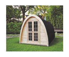 Sauna finlandese iglu fino a 4 persone da esterno 4mx2.4m 9.6mq