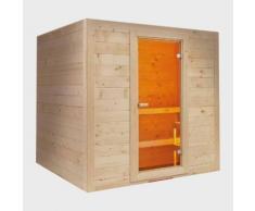 Sauna finlandese in abete rosso massello per 6 o 8 persone Islanda