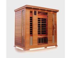 Sauna ad infrarossi a pannelli di carbonio per 4-5 persone aroma cromoterapia