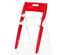 ABC Design 01110502 Hopper Cranberry Seggiolone, Rosso