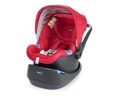 Chicco 07079580640000 Seggiolino Auto Oasys 0+, Red Passion