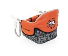 Brevi 490KH Keith Haring 490 Seggiolino Tavolo Dinette, Arancione