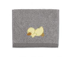 Sterntaler Asciugamano per bambini Edda La Paperella, Età: Per neonati, 50 x 30 cm, Grigio