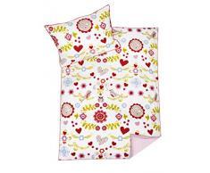 My Julius 8410113600 Biancheria da letto Bloom, Misura 100 x 135 e 40 x 60 cm